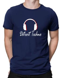 Detroit Techno - Headphones Men T-Shirt