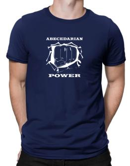 Abecedarian Power Men T-Shirt