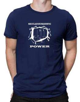 Secular Humanistic Power Men T-Shirt