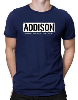 Addison : The Man - The Myth - The Legend Men T-Shirt