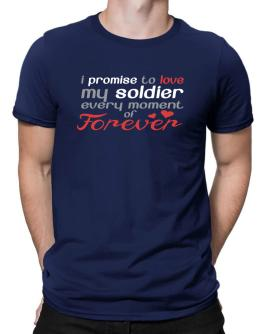 Polo de I promise to love my soldier every moment of forever