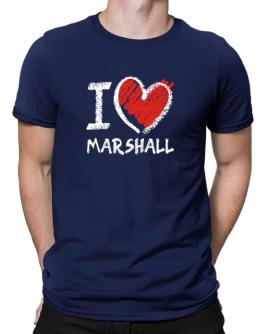 Polo de I love Marshall chalk style