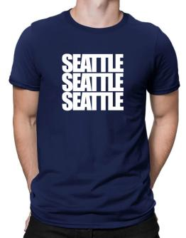 Seattle three words Men T-Shirt