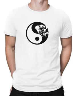 Yin Yang Tiger Men T-Shirt