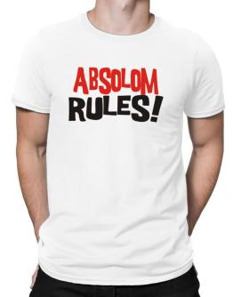 Absolom Rules! Men T-Shirt