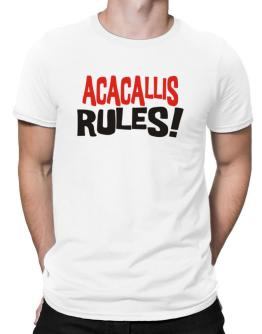 Acacallis Rules! Men T-Shirt