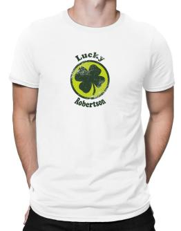Lucky Robertson Men T-Shirt