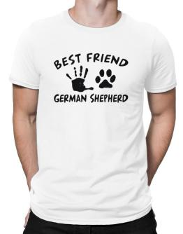 My Best Friend Is My German Shepherd Men T-Shirt