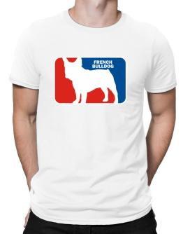 French Bulldog Sports Logo Men T-Shirt