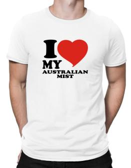 I Love My Australian Mist Men T-Shirt