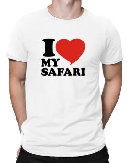 I Love My Safari Men T-Shirt