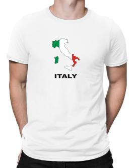 Polo de Italy - Country Map Color