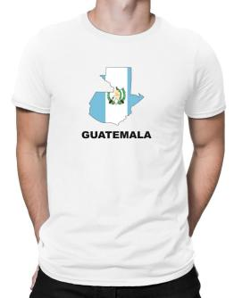 Guatemala - Country Map Color Men T-Shirt