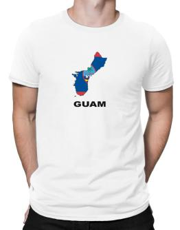 Polo de Guam - Country Map Color