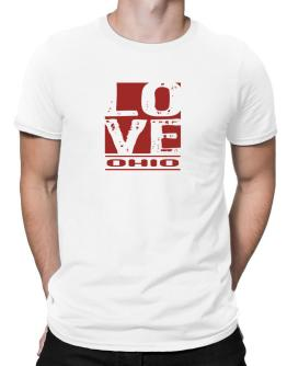 Love Ohio Men T-Shirt