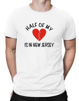 Half Of My New Jersey Men T-Shirt