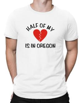 Half Of My Oregon Men T-Shirt