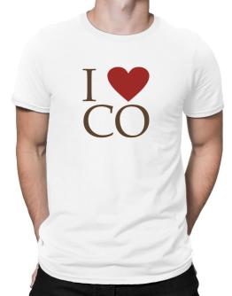 """ I LOVE Colorado "" Men T-Shirt"