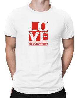 Love Abecedarian Men T-Shirt