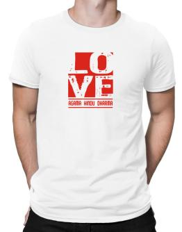 Love Agama Hindu Dharma Men T-Shirt