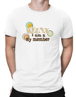 Relax, I Am A Hy Member Men T-Shirt