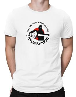 Ame Zion Church Member By Day, Ninja By Night Men T-Shirt