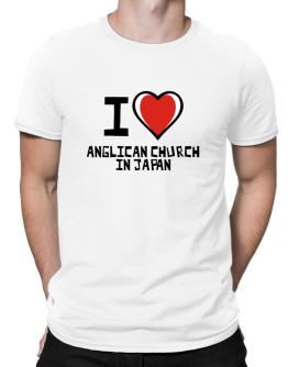 I Love Anglican Church In Japan Men T-Shirt
