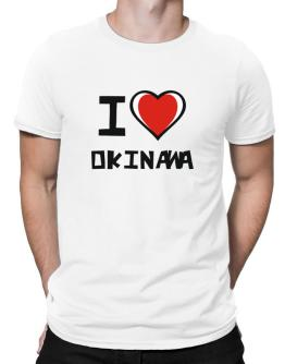 I Love Okinawa Men T-Shirt