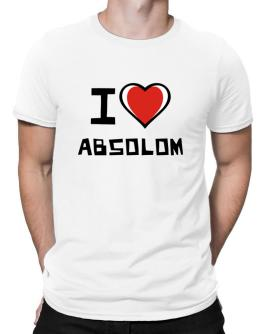 I Love Absolom Men T-Shirt