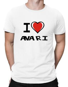 I Love Avari Men T-Shirt