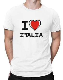 I Love Italia Men T-Shirt