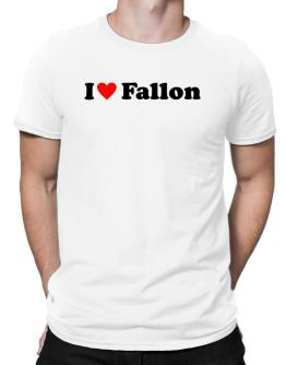 I Love Fallon Men T-Shirt