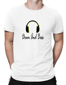 Listen Drum And Bass Men T-Shirt