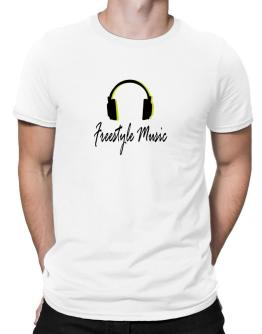Listen Freestyle Music Men T-Shirt