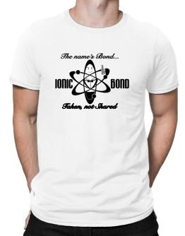 Ionic Bond Men T-Shirt