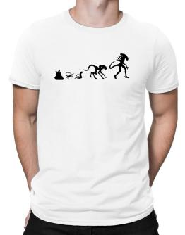 Alien Evolution - 2 Men T-Shirt