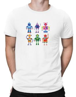 Cool robots Men T-Shirt