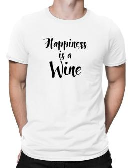 Happiness is a Wine Men T-Shirt