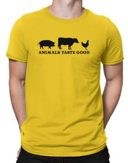Animals taste good Men T-Shirt