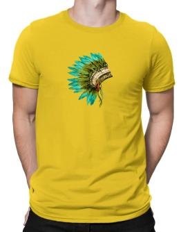 Polo de Native American headdress