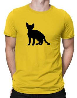 Devon Rex silhouette Men T-Shirt