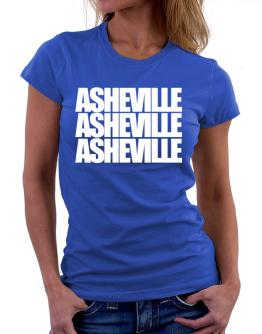 Asheville three words Women T-Shirt