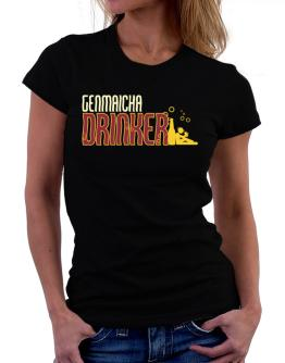 Genmaicha Drinker Women T-Shirt