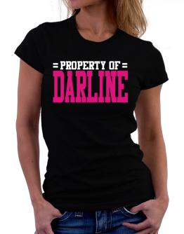 Property Of Darline Women T-Shirt