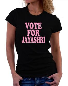 Vote For Jayashri Women T-Shirt