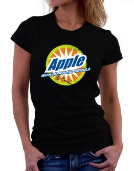 Apple - With Improved Formula Women T-Shirt