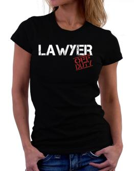 Lawyer - Off Duty Women T-Shirt
