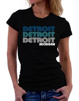 Detroit State Women T-Shirt