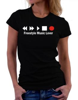 Freestyle Music Lover Women T-Shirt