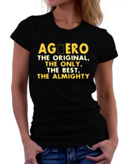 Agüero The Original Women T-Shirt